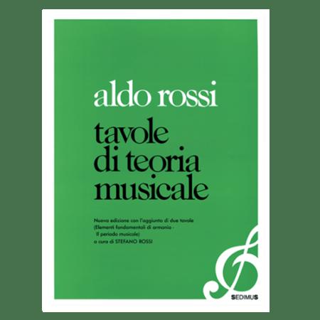 ALDO ROSSI - TAVOLE DI TEORIA MUSICALE
