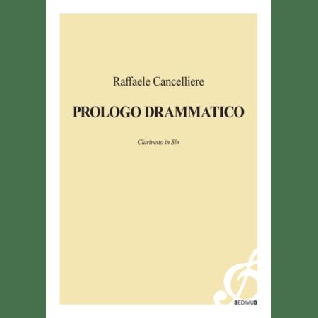 RAFFAELE CANCELLIERE - PROLOGO DRAMMATICO