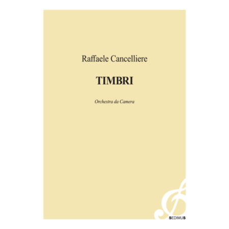 RAFFAELE CANCELLIERE - TIMBRI